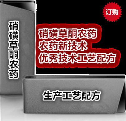 《硝磺草酮农药专利分析及工艺配方汇编》
