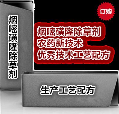 《烟嘧磺隆除草剂专利分析与工艺配方专集》